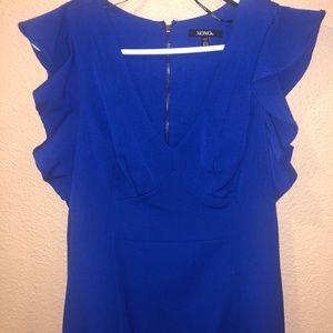 XOXO Dresses - XOXO Blue Dress 9/10- NWOT Retail value $79